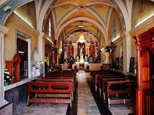 Paseo por Mexico Interior Iglesia Santa Maria Nenetzintla en Acajete