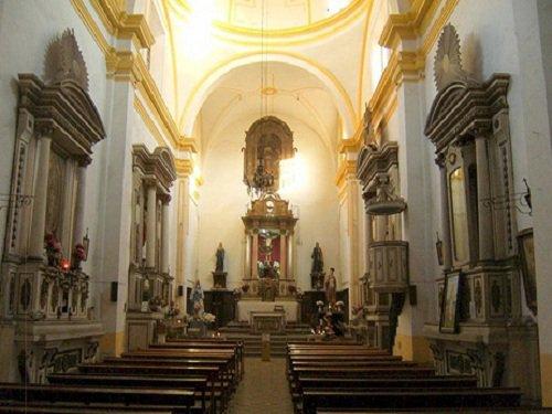 Interior de la Capilla de San Juan de Letrán